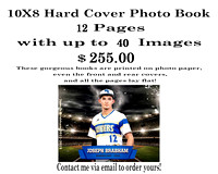8X10 Photo Book-SAMPLE with 12 pages