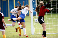 2014-8-23 WEHS Girls Soccer V vs Barren Co