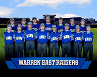 2017 Warren East Middle School Baseball Team and Individuals Photos