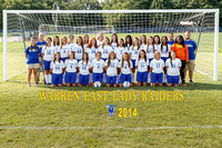 2014 WEHS Girls Soccer Team & Individual photographs