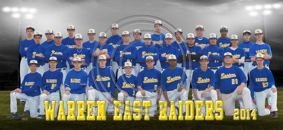 Warren East Team Poster 18.5x8.5 300dpi