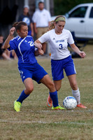 2014-10-2 WEHS Girls Junior Varsity Soccer vs Franklin Simpson